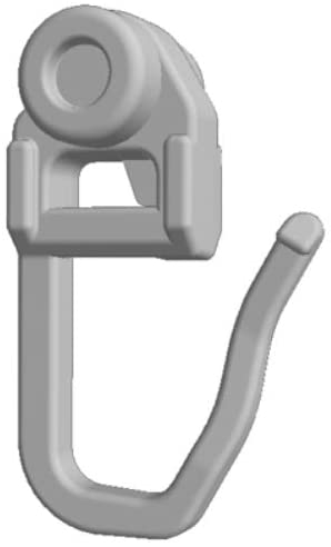 100 Stk. Objektrollen für Vorhangschiene