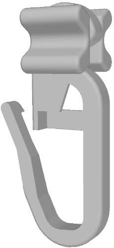 100 Stk. X-Gleiter für Schleuderschiene