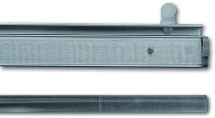 Alu-Paneelwagen für Vorhangschiene Innenlaufschiene Innenlaufprofil 34x14 mm